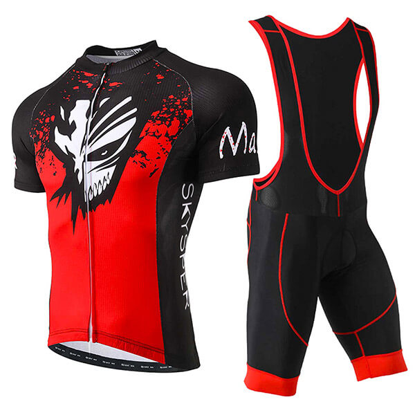 Men's Short Sleeve Kit -  Wolf Mask - SKYSPER