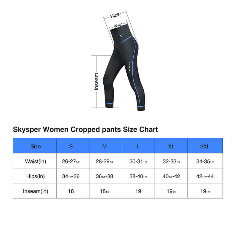 Breathable 3/4 Cycling Leggings