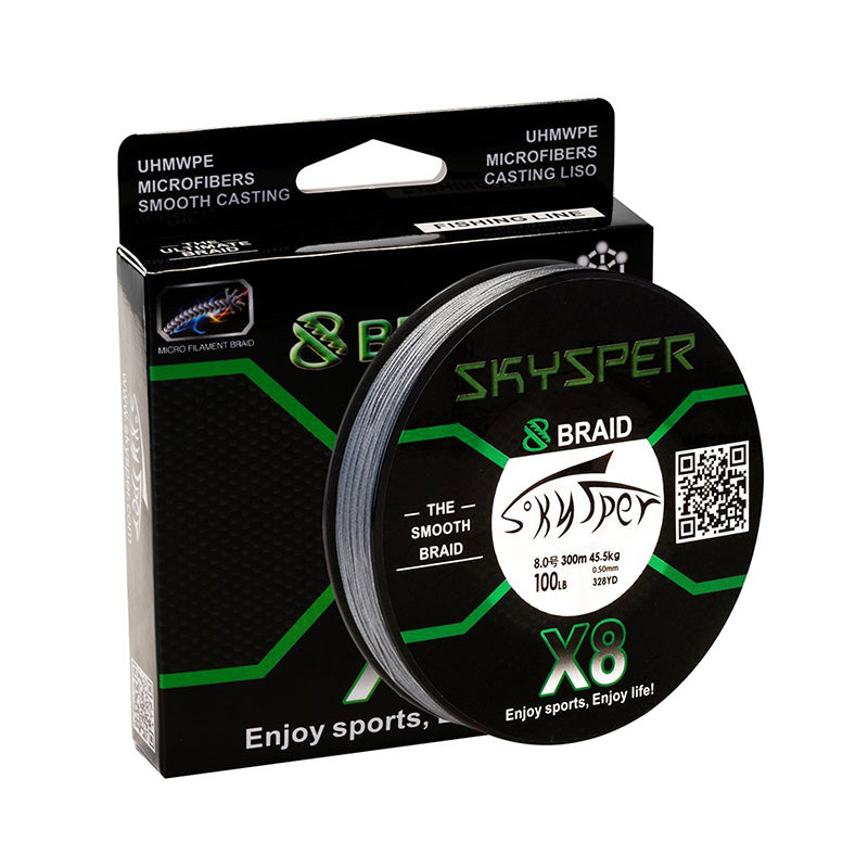 Lastest X8 8 Strands PE Braid Fishing Line - SKYSPER