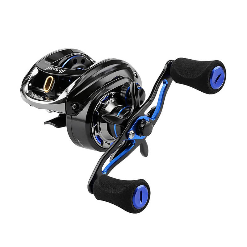 11+1BB 7.6:1 Baitcasting Reels Fishing Reels Casting Reels Left/Right Hand