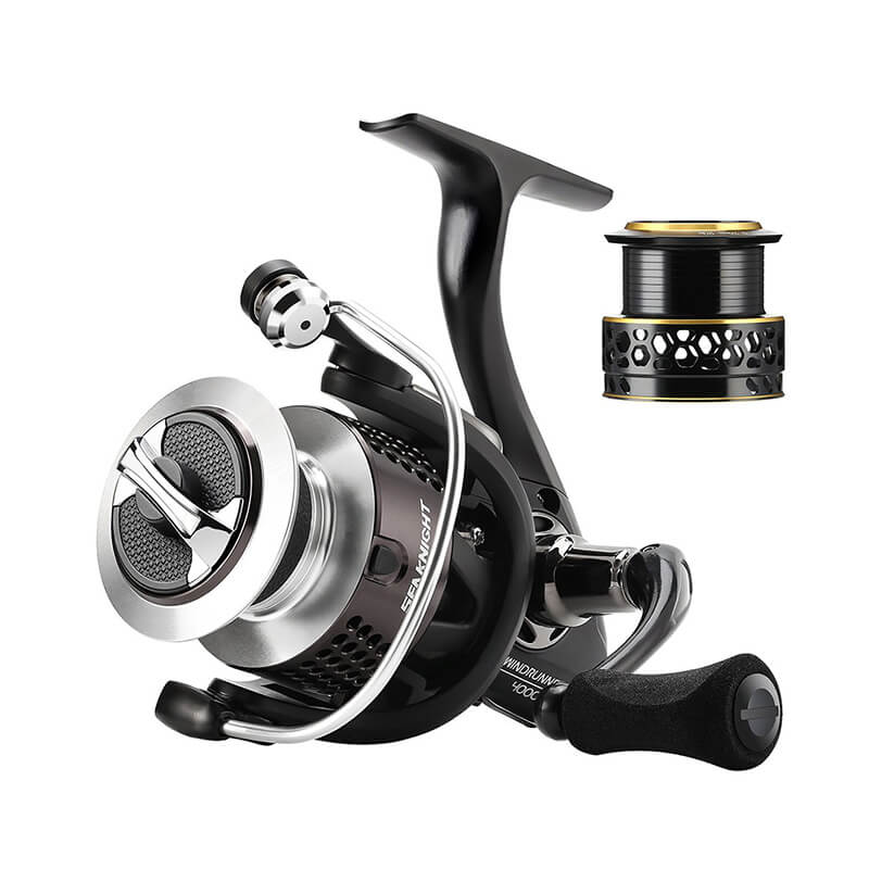 10+1BB 6.2: 1 Gear Ratio Left/Right Interchangeable Fishing Spinning Reels with Spare Spool - SKYSPER