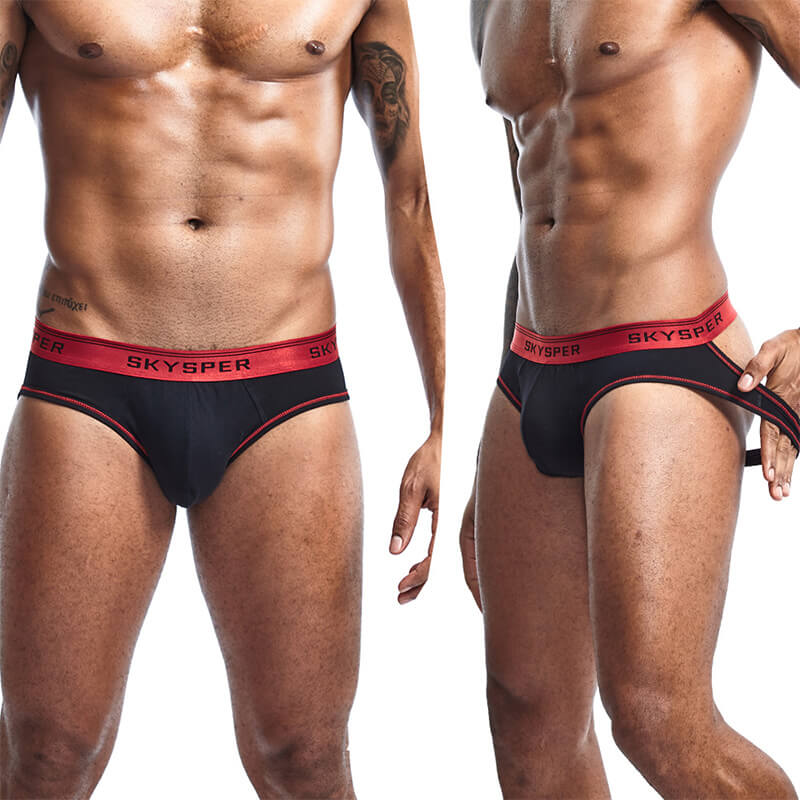 Men's Cotton Jockstrap Underwear Athletic Supporter