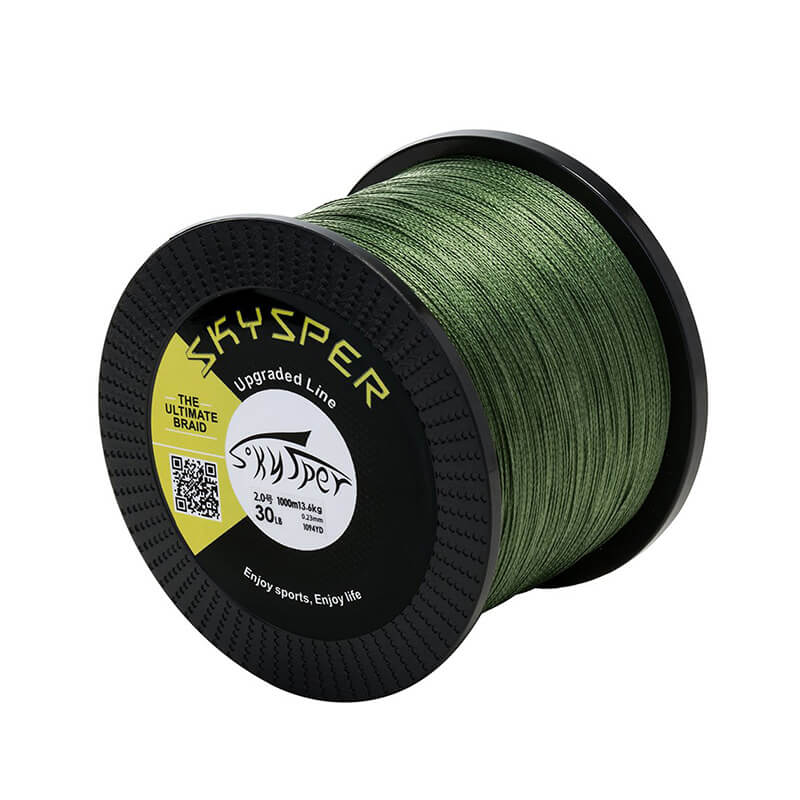 20LB-100LB 1093 yard 1000m PE 4 Strands Braided Fishing Line[Upgraded] - SKYSPER