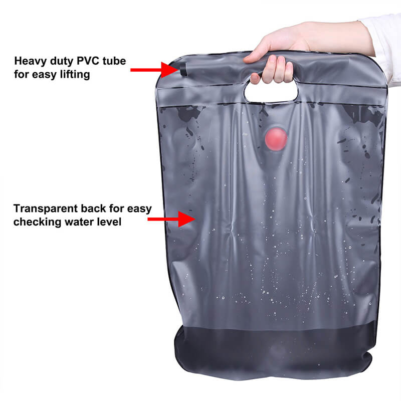 Solar Shower | 5 Gallons Portable Camping Shower | Solar Shower Bag