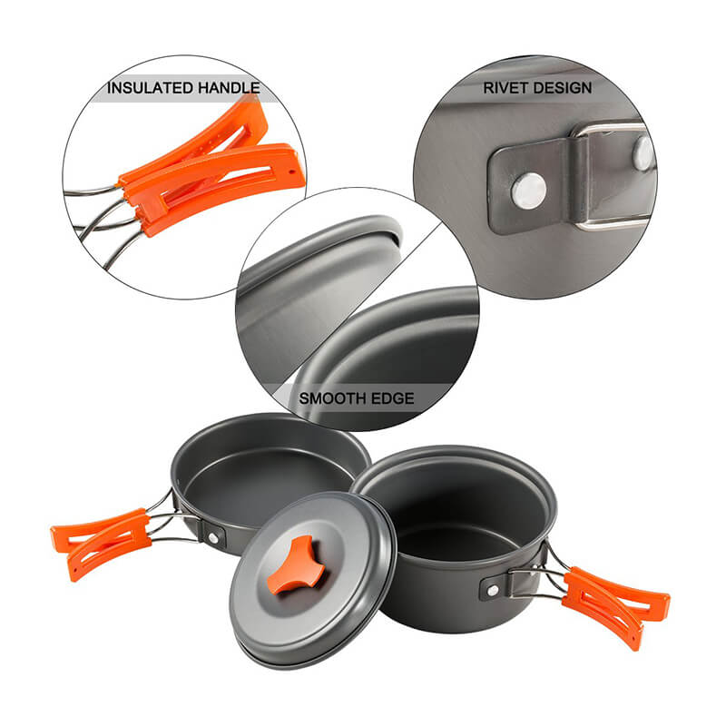 Camping Cookware | Camping Pots and Pans | Camping Cook Set