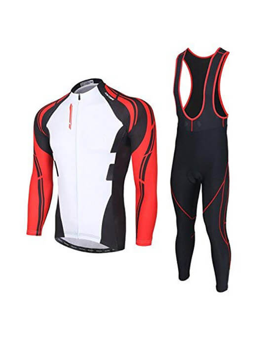 Men Long Sleeve Cycling Kit - Color