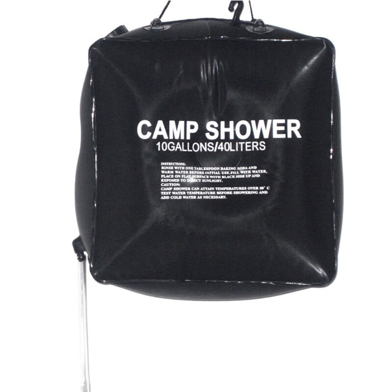 Portable Shower | 10 Gallon Solar Shower Bag | Outdoor Camping Shower