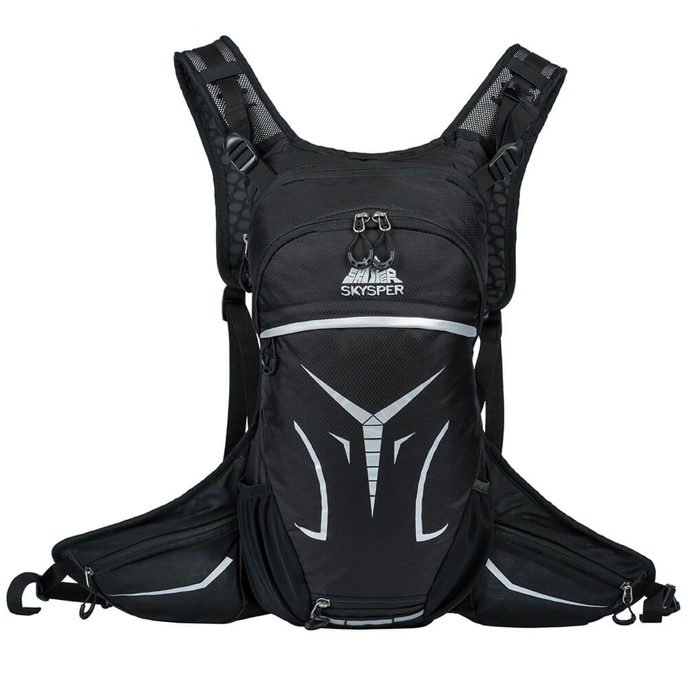 Black Cycling Hydration Backpack*15L - SKYSPER