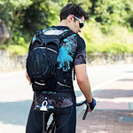 Black Cycling Backpack*15L - SKYSPER