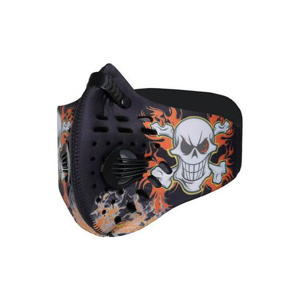 Air Face Mask(N95) - Cross Skull