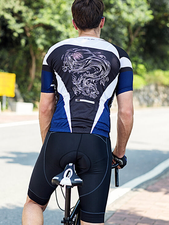 Men's Short Sleeve Kit - White Dargon - SKYSPER