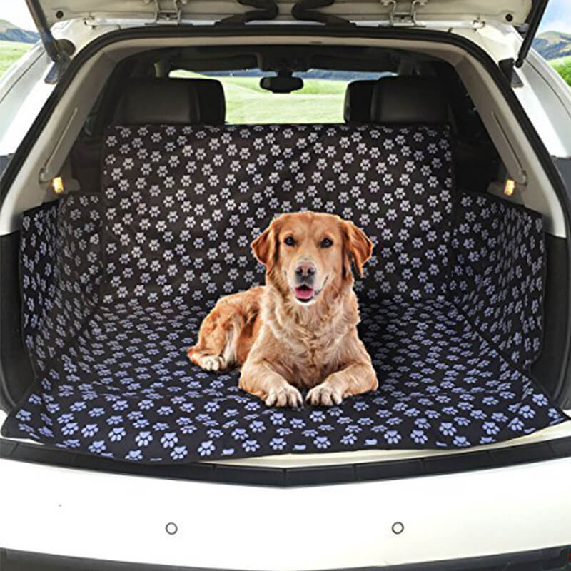 Car Boot Liner Protector Waterproof, Auto Cargo Pet Dog Cat Seat Cover Hammock Mat Pad Travel