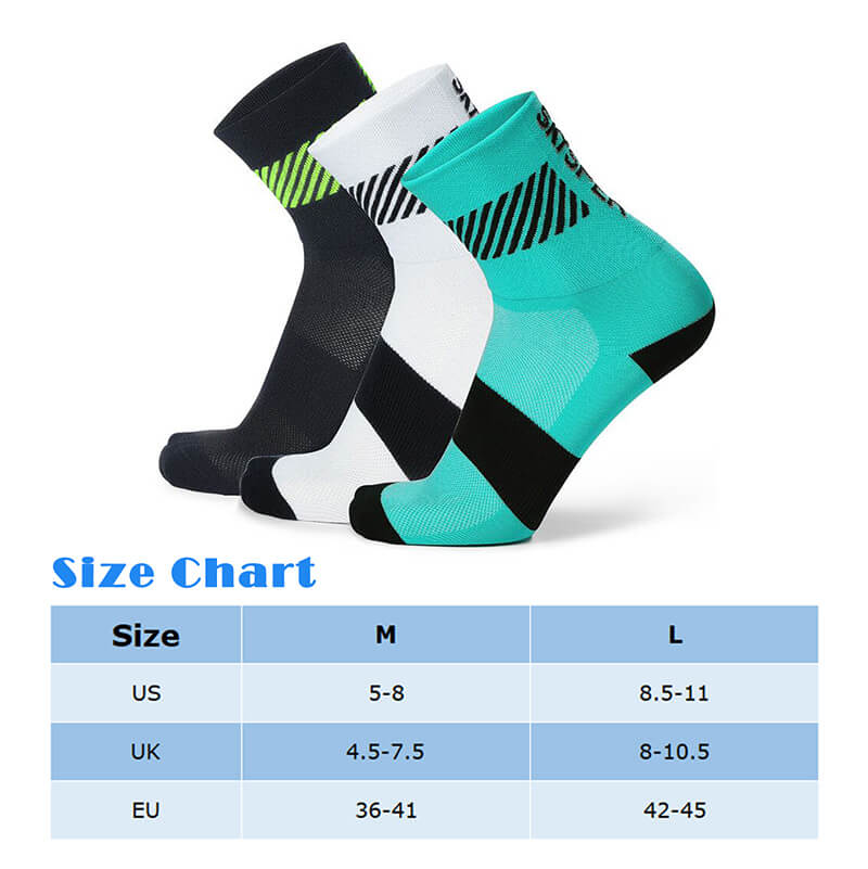 3 Pair Quarter Ankle Athletic Socks - SKYSPER