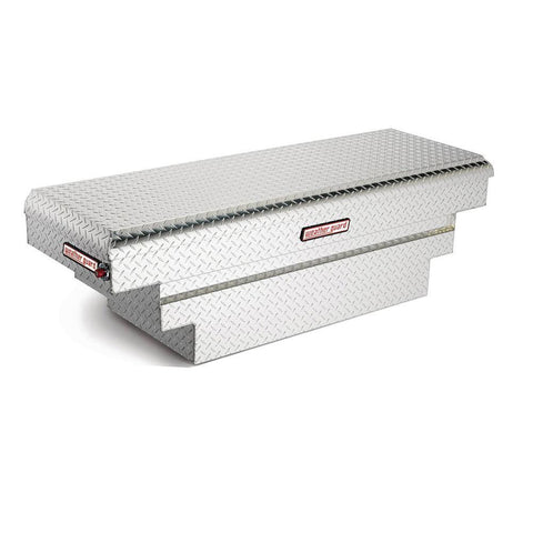 Model 137-0-01 Saddle Truck Box, Compact Deep | WEATHER GUARD® | Simpson Tool Box | Truck Accessories