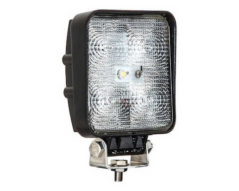 4 Inch Square LED Clear Flood Light | Buyers Products | Simpson Tool Box | Truck Accessories