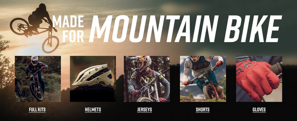 Fox Racing Mountain Bike Apparel clothing