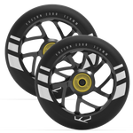 Fuzion Flight Wheel 110mm Black with Black Core (Pair)