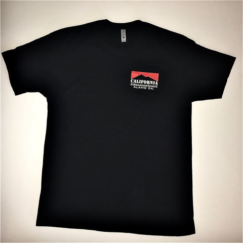California Bike and Snowboard Classic Tee Black