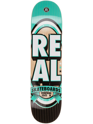 "Real Renewal Stacked Teal 7.75"" Deck"