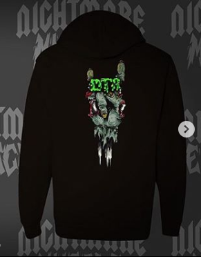 "Dirt Trail Riders ""Zombie"" Pullover Hoodie (Adult)"