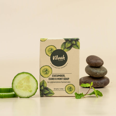 Cucumber, Curd & Mint Soap