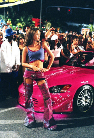 Devon Aoki in 2 Fast 2 Furious.