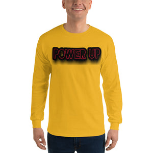 Men Power Up Long Sleeve T Shirt