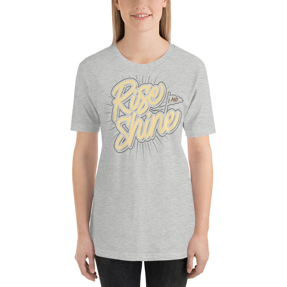 Women's Rise And Shine Short Sleeve T Shirt
