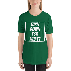 Turn Down For What Unisex T-Shirt