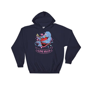 Women's Custom Love Kills Hoodie