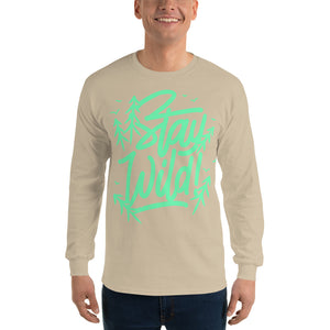 Men Stay Wild Long Sleeve T Shirt