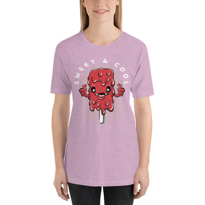 Women's Cool And Sweet Short Sleeve T-Shirt