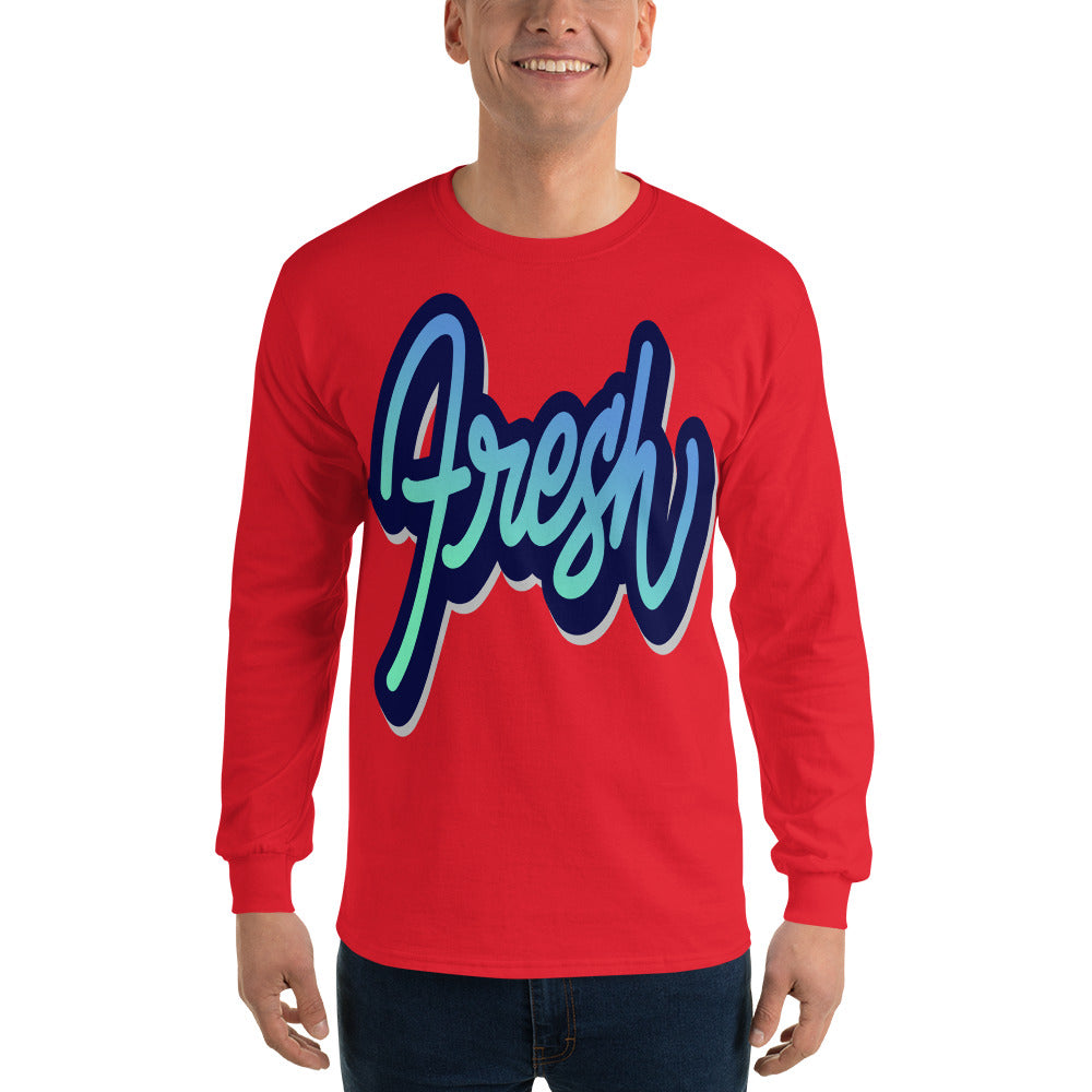 Men Fresh Long Sleeve T Shirt
