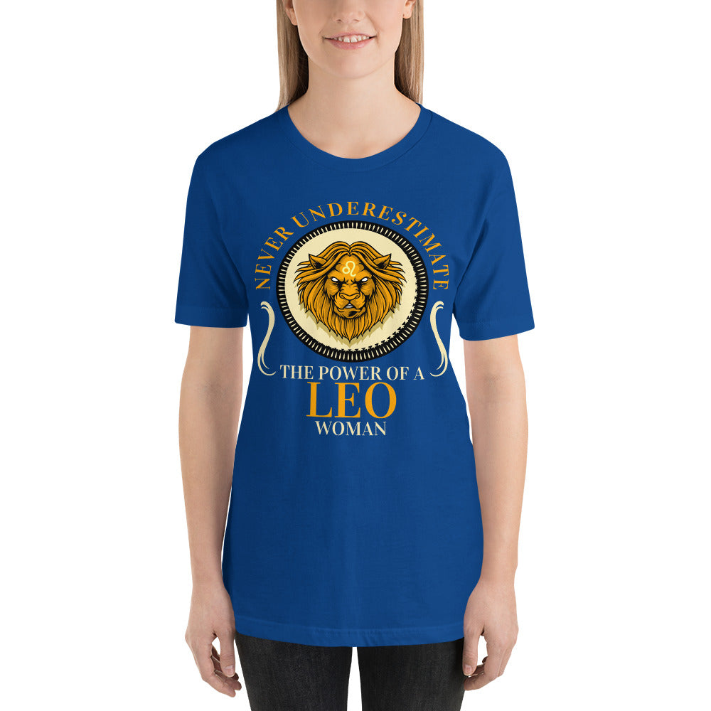 Women's Leo Short-Sleeve T-Shirt