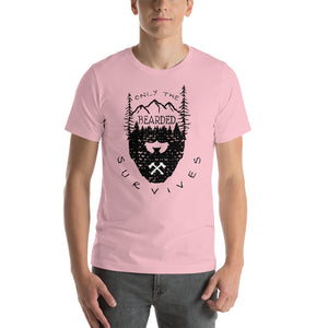 Men Bearded Survival T Shirt