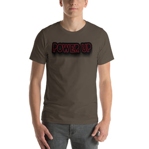 Power Up Short Sleeve Unisex T-Shirt