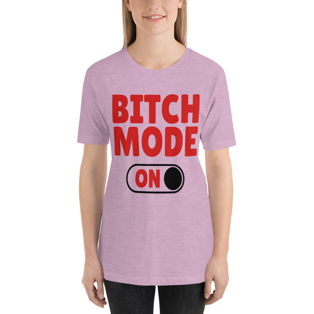 Women's Bitch Mode Short Sleeve T-Shirt