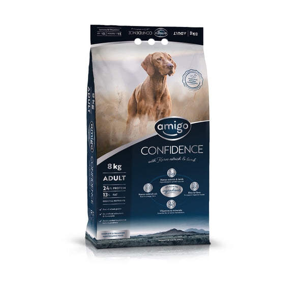 Amigo Confidence Adult Dog Food