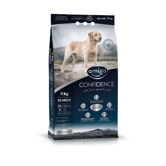 Amigo Confidence Senior Dog Food