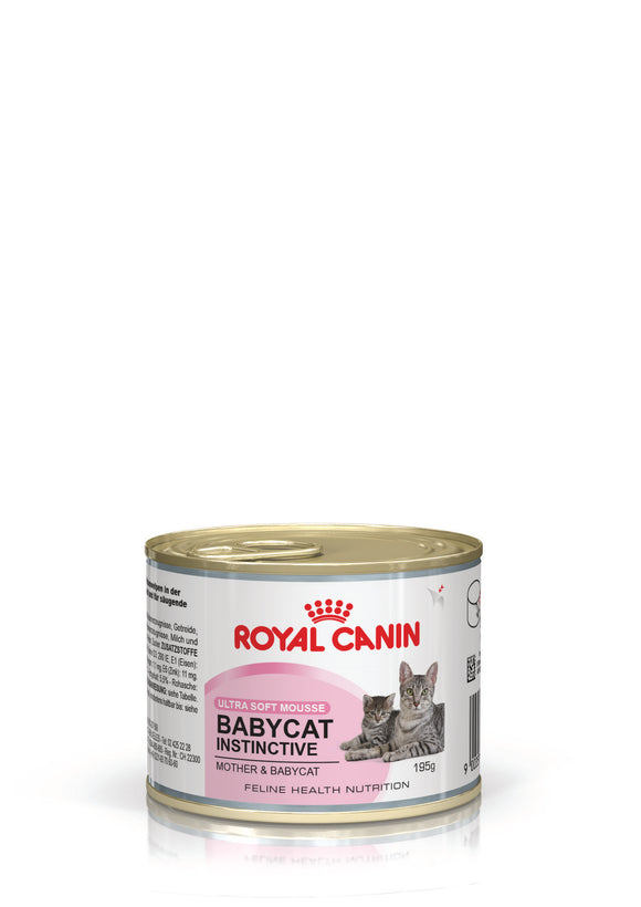 Royal Canin Can Food Babycat Instinctive Cat Food195g