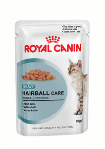 Royal Canin Pouches Hairball Care Cat Food 85g