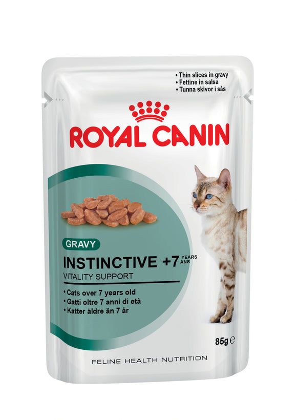 Royal Canin Pouches Instinctive 7+ Cat Food 85g