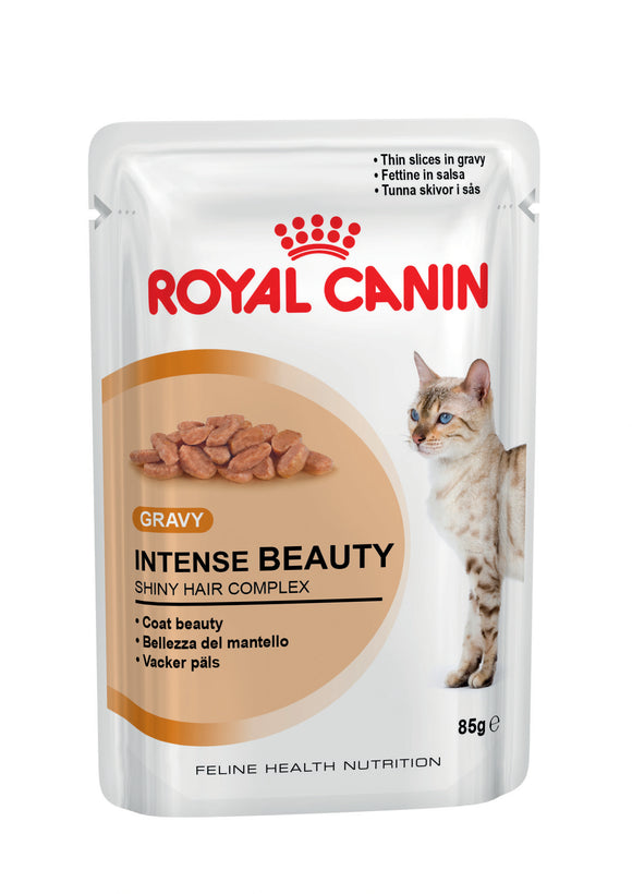 Royal Canin Pouches Intense Beauty Cat Food 85g