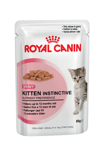 Royal Canin Pouches Kitten Instinctive Cat Food 85g