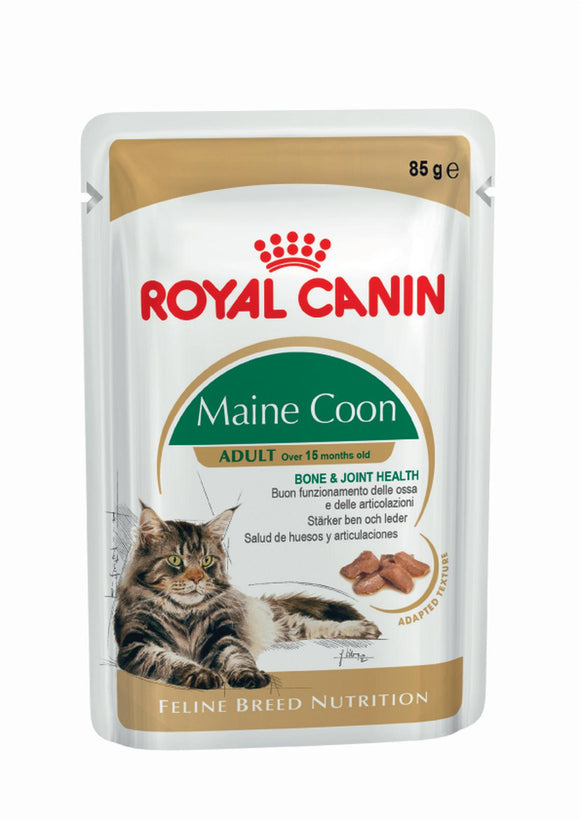 Royal Canin Pouch Main coon Adult Cat Food 85g
