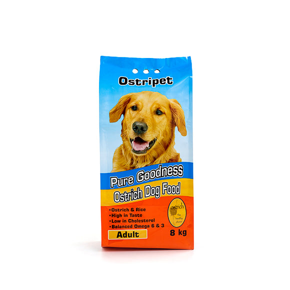 Ostripet large breed adult Dog food 8kg