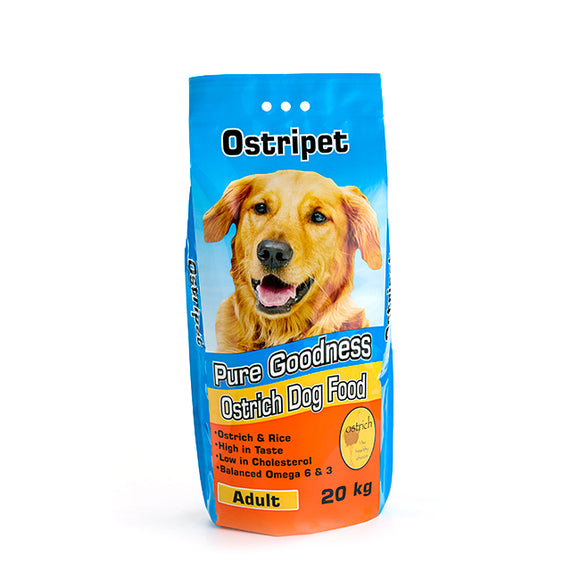 Ostripet Adult Dog food 20kg Smaller Kibble