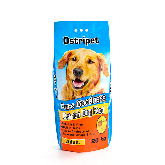 Ostripet Dog food Adult 20kg Larger Kibble