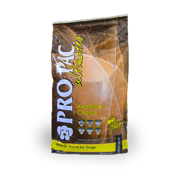 ProPac Dog Food Heartland Choicegrain Free 2.5kg