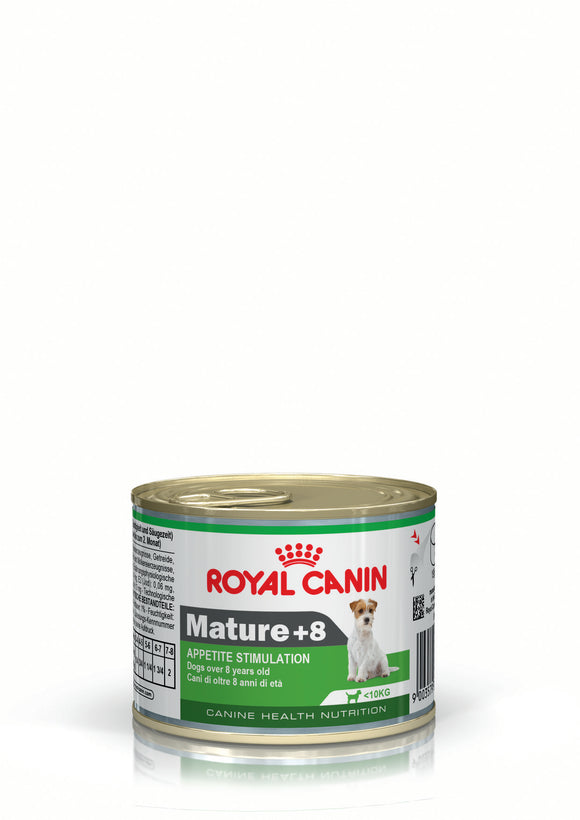Royal Canin Can Food Mature 8+ Dog Food 195g